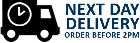 NEXT DAY DELIVERY - ORDER BEFORE 2PM